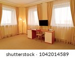 fragment of an interior of the... | Shutterstock . vector #1042014589