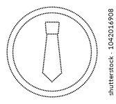 retro label fashion necktie for ...   Shutterstock .eps vector #1042016908