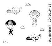 Skydiving Fun Doodle