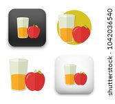 flat vector icon   illustration ... | Shutterstock .eps vector #1042036540