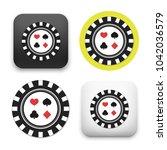 flat vector icon   illustration ... | Shutterstock .eps vector #1042036579