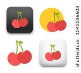 flat vector icon   illustration ... | Shutterstock .eps vector #1042036603