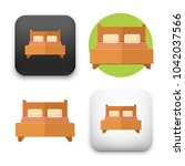 flat vector icon   illustration ...   Shutterstock .eps vector #1042037566