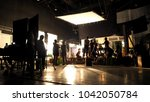 behind the scenes or the making ... | Shutterstock . vector #1042050784