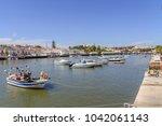 panoramic sight of tavira in...   Shutterstock . vector #1042061143