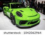 geneva  switzerland   march 6 ... | Shutterstock . vector #1042062964