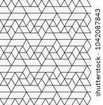 vector seamless pattern.... | Shutterstock .eps vector #1042087843