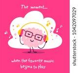 vector illustration of pink... | Shutterstock .eps vector #1042097029