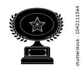 winner flat icon | Shutterstock .eps vector #1042111564