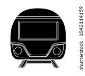train railway icon | Shutterstock .eps vector #1042114159