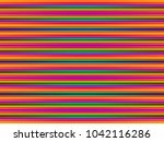 simple parallel horizontal... | Shutterstock . vector #1042116286
