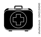 first aid bag icon | Shutterstock .eps vector #1042134040