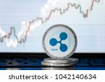 ripple  xrp  cryptocurrency ... | Shutterstock . vector #1042140634