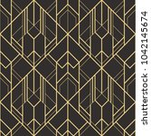 vector modern geometric tiles...   Shutterstock .eps vector #1042145674