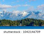 fantastic view over ocean  snow ...   Shutterstock . vector #1042146709