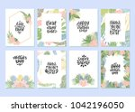 mother's day. set of hand drawn ... | Shutterstock .eps vector #1042196050