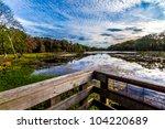 Observation Or Fishing Dock At...
