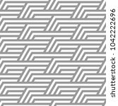 vector seamless texture. modern ... | Shutterstock .eps vector #1042222696