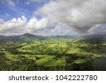 aerial view of cordilleras.... | Shutterstock . vector #1042222780