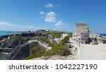 isla mujeres amazing colors ...   Shutterstock . vector #1042227190