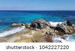 isla mujeres amazing colors ...   Shutterstock . vector #1042227220