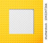 vector template frame for photo ... | Shutterstock .eps vector #1042247266