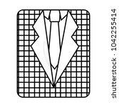 retro checkered shirt and...   Shutterstock .eps vector #1042255414