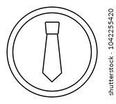 retro label fashion necktie for ...   Shutterstock .eps vector #1042255420