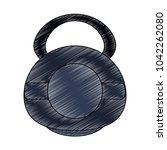 kettlebell weight symbol | Shutterstock .eps vector #1042262080