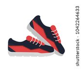 sport shoes isolated | Shutterstock .eps vector #1042264633