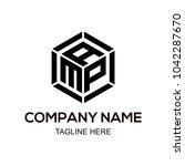 amp logo letter | Shutterstock .eps vector #1042287670