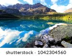 lake o'hara  yoho national park ...   Shutterstock . vector #1042304560