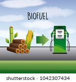 biofuel ecology alternative | Shutterstock .eps vector #1042307434