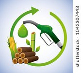 biofuel ecology alternative | Shutterstock .eps vector #1042307443