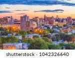 portland  maine  usa downtown...   Shutterstock . vector #1042326640