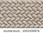 close up wicker material...   Shutterstock . vector #1042330876