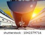 Stern Ship Propeller Big Cargo...