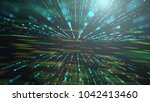 abstract technology background... | Shutterstock . vector #1042413460