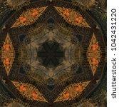 Abstract Kaleidoscope Mirror...