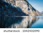 beautiful views of the mountain ... | Shutterstock . vector #1042432090