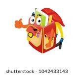 school bag  school | Shutterstock .eps vector #1042433143