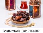 ramadan kareem festive  close... | Shutterstock . vector #1042461880