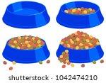 Colorful Cartoon Pet Food Bowl...