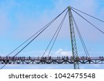 langkawi sky bridge  suspension ... | Shutterstock . vector #1042475548