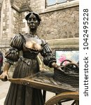 Small photo of Dublin, Ireland - February 2018: Close up of the Molly Malone statue in Grafton Street. It was unveiled during the 1988 Dublin Millennium celebrations