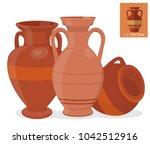 Amphora Vase Set