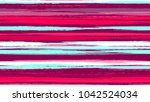 brush strokes and stripes with... | Shutterstock .eps vector #1042524034