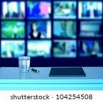 empty television studio | Shutterstock . vector #104254508