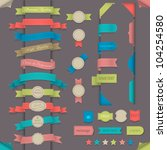 big set design elements in... | Shutterstock .eps vector #104254580