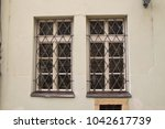 a window in pragues' old town | Shutterstock . vector #1042617739